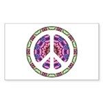 CND Floral5 Rectangle Sticker 10 pk)