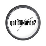 got billiards? Wall Clock