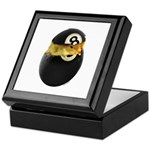 Billiards Chick Keepsake Box