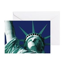Statue of Liberty Greeting Card (10 pk, blank insi
