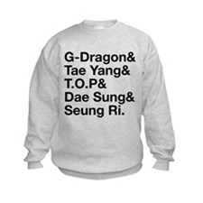 Big Bang (B) Kids Sweatshirt