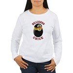 Billiards Chick 2 Women's Long Sleeve T-Shirt