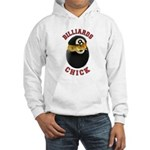 Billiards Chick 2 Hooded Sweatshirt