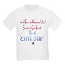 Fun and Games;Roller Derby T-Shirt