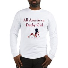All American Derby Girl Long Sleeve T-Shirt