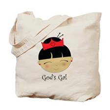 God's Gal Asian Tote Bag
