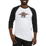 Stegosaurus Dinosaur Baseball Jersey