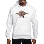 Stegosaurus Dinosaur Hooded Sweatshirt