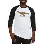 Edmontosaurus Dinosaur Baseball Jersey