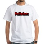 Religion White T-Shirt