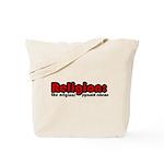 Religion Tote Bag