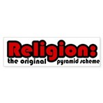 Religion Bumper Sticker (10 pk)