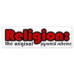 Religion Bumper Sticker (10 pk)