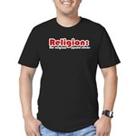 Religion Men's Fitted T-Shirt (dark)