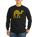 Camel Toe Long Sleeve Dark T-Shirt