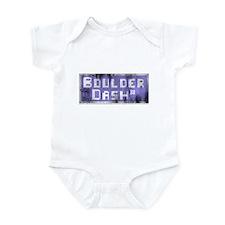 Distressed Logo Infant Bodysuit
