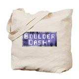 Distressed Logo Tote Bag