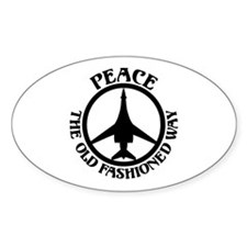 PTOFW B-1s Oval Decal