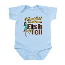 Good Girls Never Fish & Tell Onesie