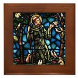 St Francis of Assisi Framed Tile