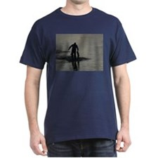 Black T-Shirt - The Fisherman