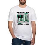 Irish American Fitted T-Shirt