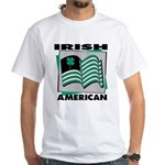 Irish American White T-Shirt