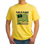 Irish American Yellow T-Shirt