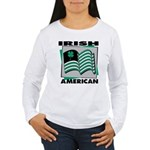 Irish American Women's Long Sleeve T-Shirt