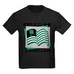 Irish American Kids Dark T-Shirt