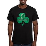Ireland Shamrock Men's Fitted T-Shirt (dark)