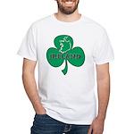 Ireland Shamrock White T-Shirt