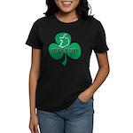 Ireland Shamrock Women's Dark T-Shirt