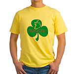 Ireland Shamrock Yellow T-Shirt