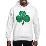 Ireland Shamrock Hooded Sweatshirt