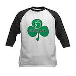 Ireland Shamrock Kids Baseball Jersey