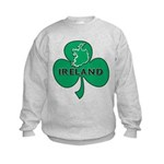 Ireland Shamrock Kids Sweatshirt