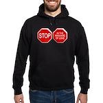 Stop in the Name of Love Hoodie (dark)