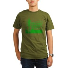 Pacific Green Party Organic T-Shirt (dark)