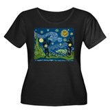 A Juggler's Starry Night (Women's Plus Size T)