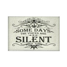 Voices Are Silent Rectangle Magnet (100 pack)