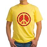 Flower Power Yellow T-Shirt