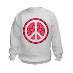 Flower Power Kids Sweatshirt