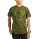 Gandhi Vine - Change - Green T-Shirt
