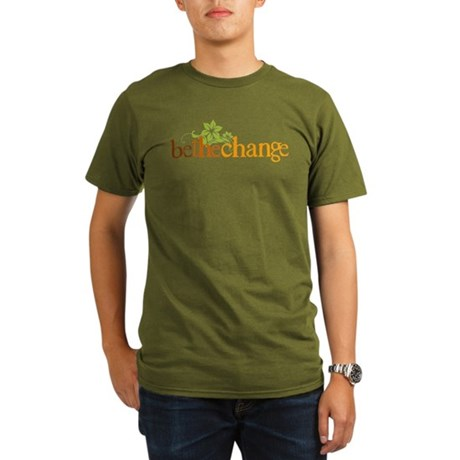 Be The Change - Earthy - Flor Organic Men's T-Shir