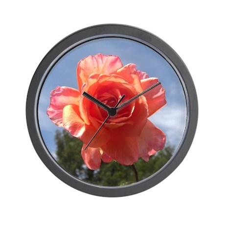Sky Bloom Wall Clock