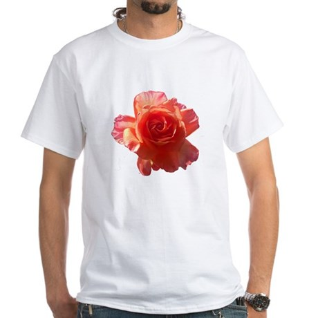 Sky Bloom White T-Shirt