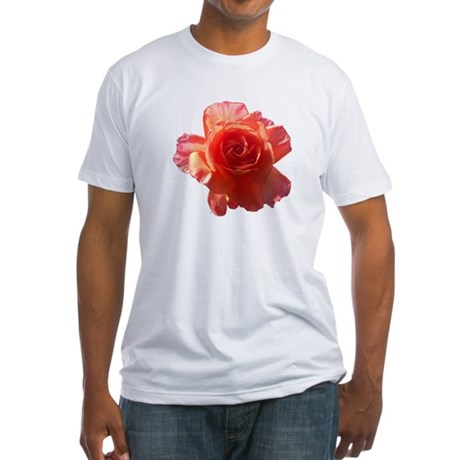 Sky Bloom Fitted T-Shirt
