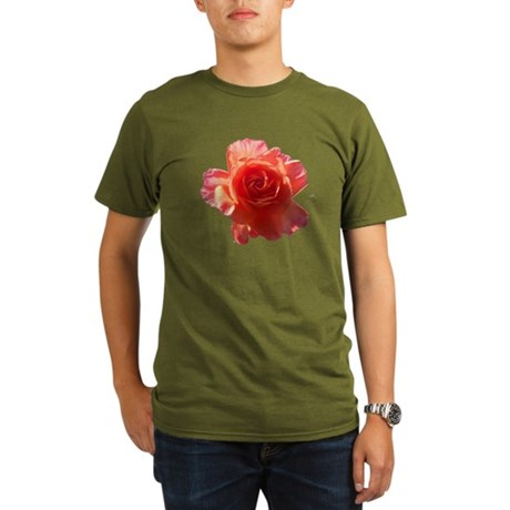 Sky Bloom Organic Men's T-Shirt (dark)