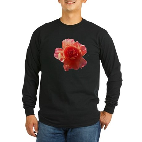 Sky Bloom Long Sleeve Dark T-Shirt